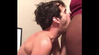 White Boy Deepthroating BBC